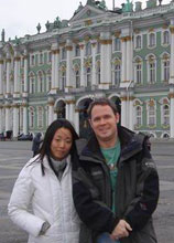 Faith Seim used an academic year abroad to prepare for and apply to VGIK in Russia.