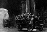 A scene from _The Storming of the Winter Palace_ - a massive 1920 dramatic reenactment of the events of 1917
