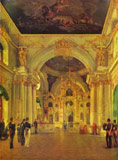 View of the Big Church of the Winter Palace, Alexey Tyranov, 1829