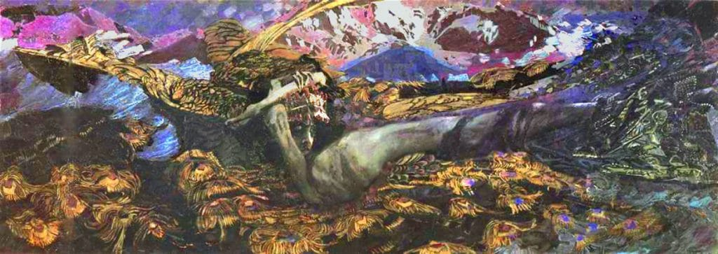 Mikhail Vrubel, Demon Downcast
