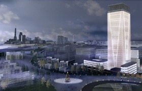 A rendering of what St. Petersburg might soon look like.