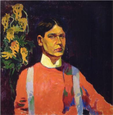 Aristarkh Lentulov - Self-Portrait - 1882