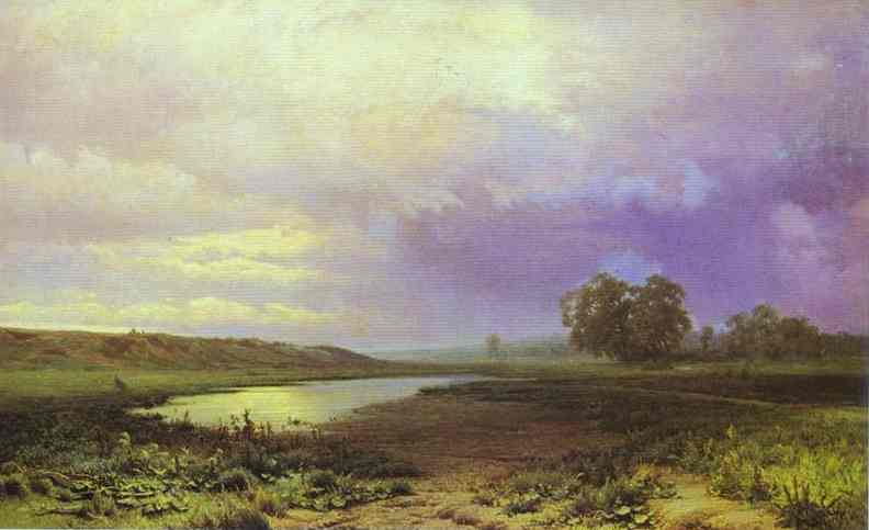 Fyodor Vasilev, Wet Meadow, 1872