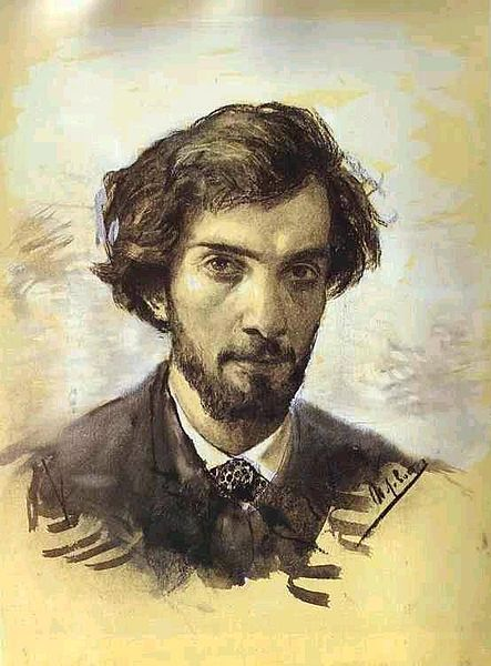 Isaac Levitan, Self Portrait, 1880