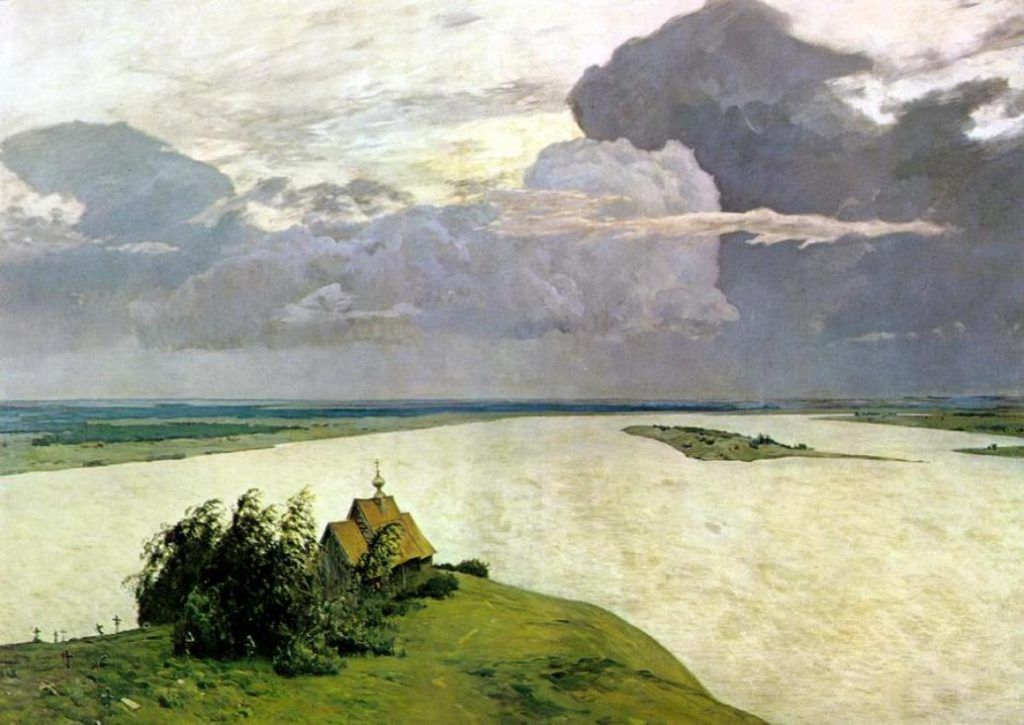 Isaac Levitan, Above Eternal Rest, 1894