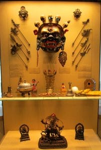 Tibetan ceremonial artifacts