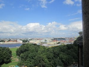 A view from St. Isaac's Cathedral