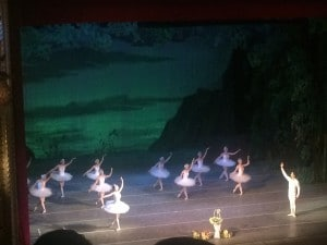 Swan Lake curtain call