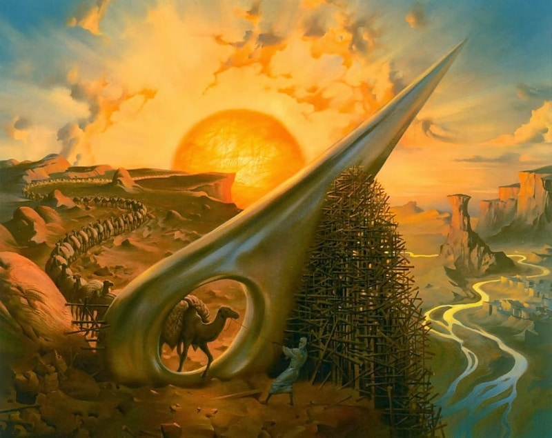 Through the Eye of the Needle Vladimir Kush