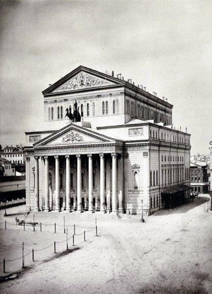Theater Square and the Bolshoi Theatre, Moscow, early 20th century