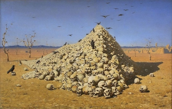 The Apotheosis of War by Vasily Vereshchagin