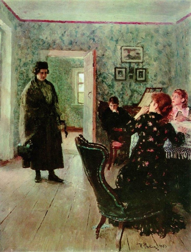 Unexpected Return by Ilya Repin