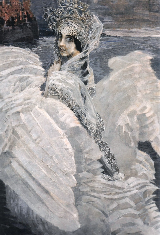The Swan Princess by Mikhail Vrubel