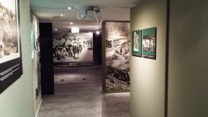 """The beginning of the 1st exhibit """"The Great War in the East"""""""