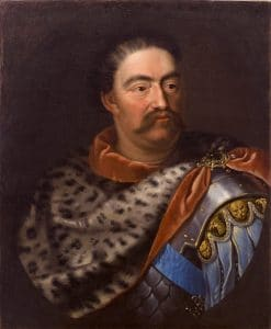 """Portrait of John III Sobieski"" by Jan Tricius (circa 1680) courtesy of wikipedia"