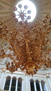 Chandelier in the Hall of the Order of St. Vladimir