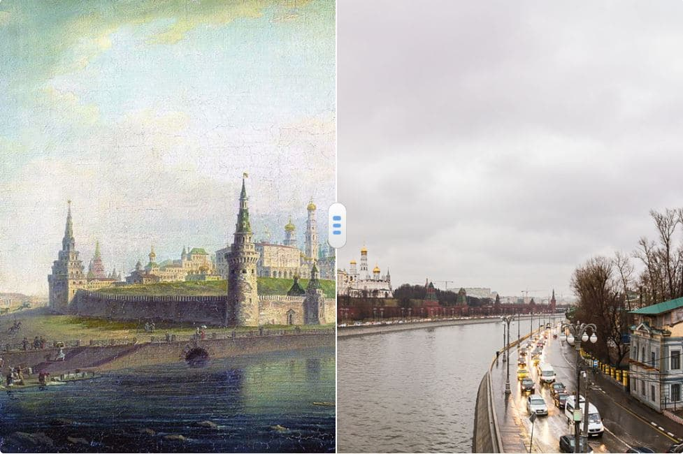 Old Moscow in Paintings