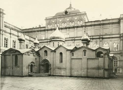 The Oldest Photographed Building in Moscow: The Cathedral of the Savior on the Bor