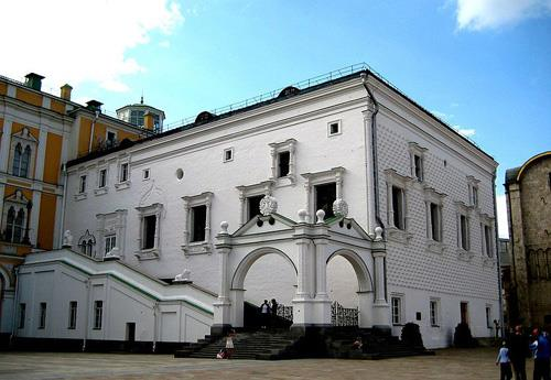 Moscow's Oldest Civil Building: The Chamber of Facets