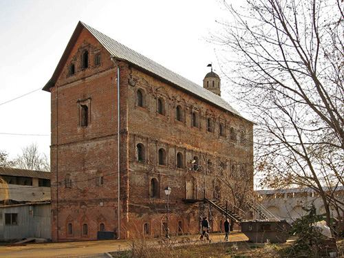 The Oldest 5-storey Building: The Hopper of the Simonov Monastery