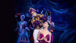 Kremlin Palace Theater in Moscow - production of The Nutcracker