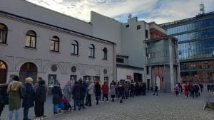 The Warsaw Uprising Museum Line