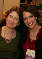 Nora with friend and colleague, R-E translator and interpreter Laura Wolfson (now a full-time employee of the UN) at the 2003 ATA conference.