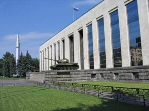 Central Armed Forces Museum in Moscow